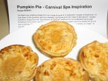 Pumpkin Pie - Carnival Spa Inspiration