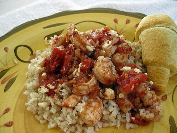 Greek-Spiced Baked Shrimp. Photo by WiGal
