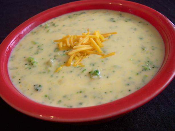 Broccoli & Cheese Soup. Photo by *Parsley*