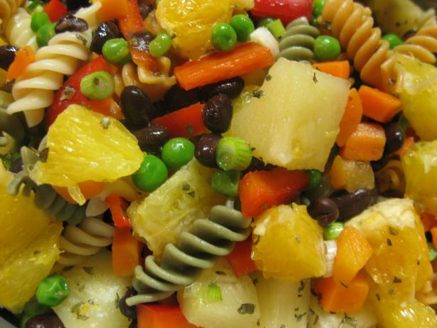 Black Bean Sunshine Pasta Salad. Photo by Charlotte J