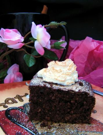 Chocolate Oat Bran Cake (Diabetic). Photo by Annacia
