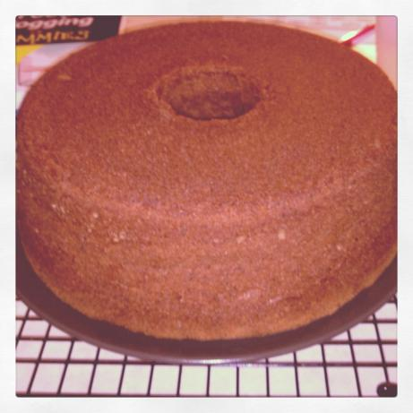 Chocolate Cream Cheese Pound Cake. Photo by rmj803