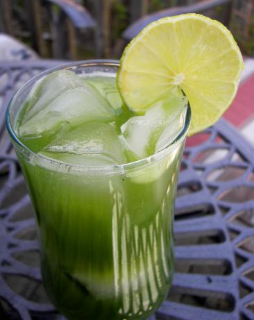 Mean Green Cucumber Juice. Photo by Baby Kato