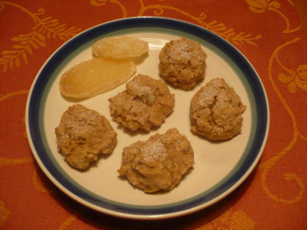 Gluten-Free Candied Ginger Cookies. Photo by katii