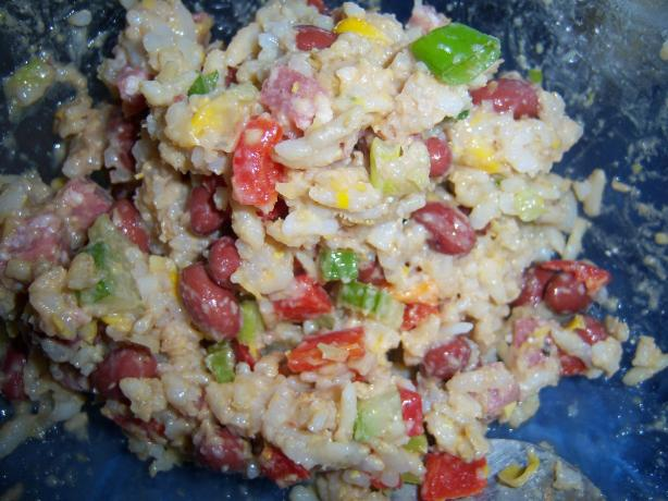 Salami & Rice Salad Medley. Photo by **Mandy**