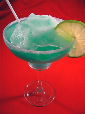 Blue Lagoon Margarita. Photo by Sue Lau