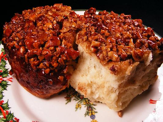 Pecan Sticky Buns. Photo by Lavender Lynn