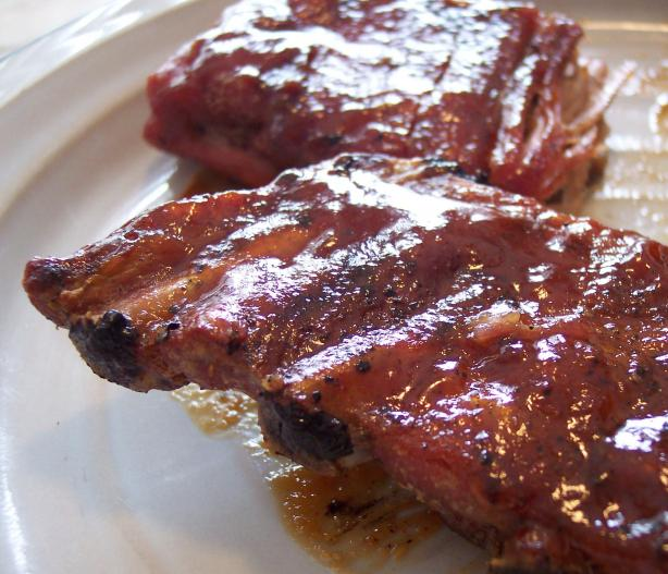 Alternate Honey Barbecue Sauce With Riblets (Applebee's Copycat). Photo by Nif