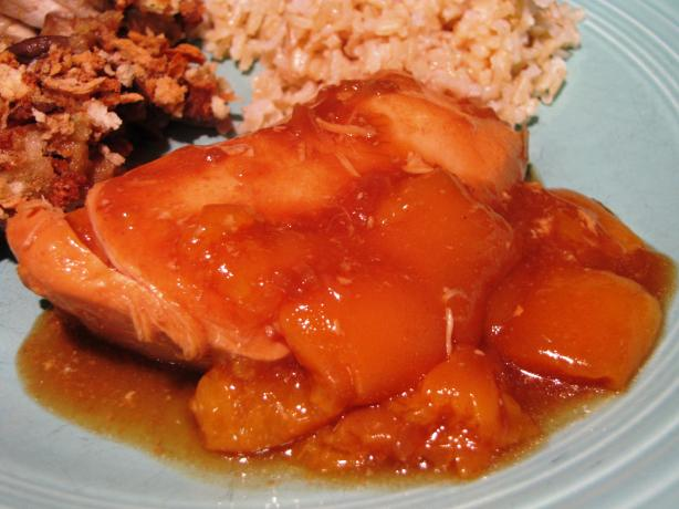 Peach Chicken (Crock-Pot). Photo by loof