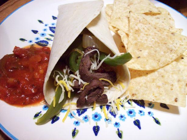 Venison Fajitas. Photo by Aunt Paula