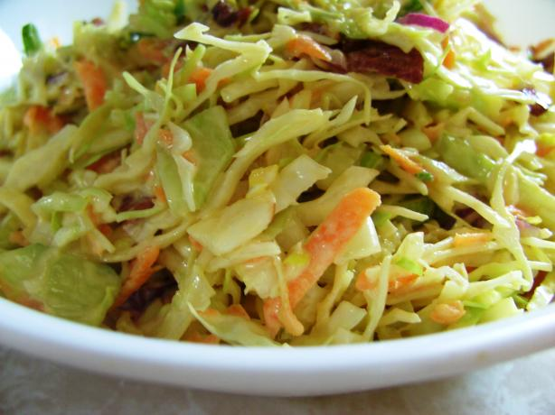 Spring Vegetable Coleslaw. Photo by JustJanS