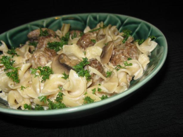 Beef Stroganoff. Photo by Pot Scrubber