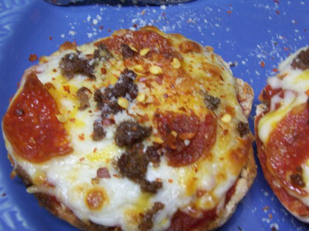 English Muffin Pizza. Photo by alligirl