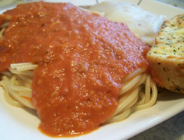 Simple Spaghetti Dinner With Variations. Photo by Crafty Lady 13