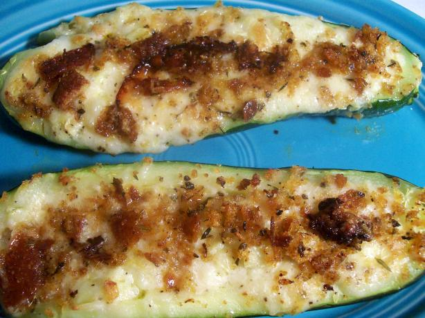 Stuffed Zucchini Boats. Photo by Sharon123