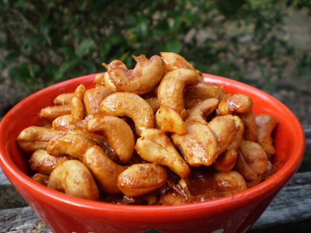 Honey Roasted Cashews. Photo by breezermom