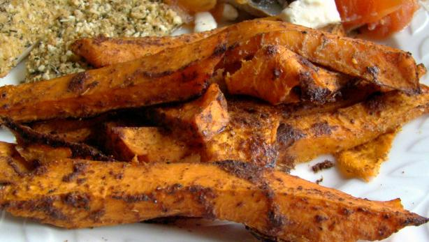 Sweet Potato Fries. Photo by Derf