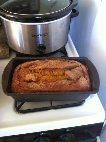 Pumpkin Banana Bread. Photo by Chef #205373