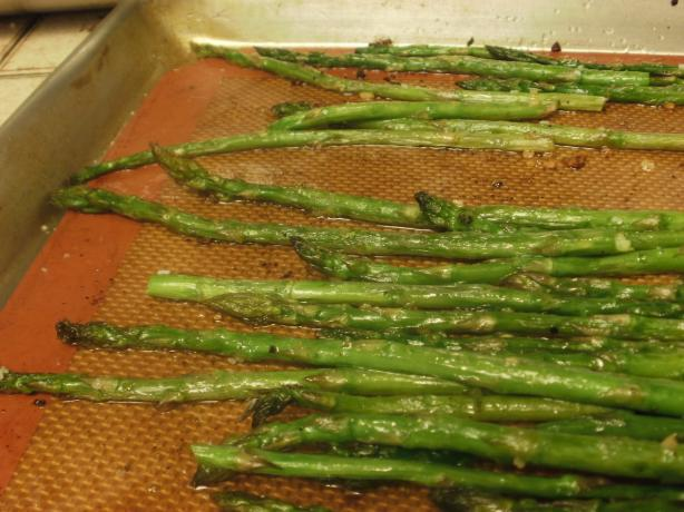 Roasted Asparagus. Photo by Marie Nixon