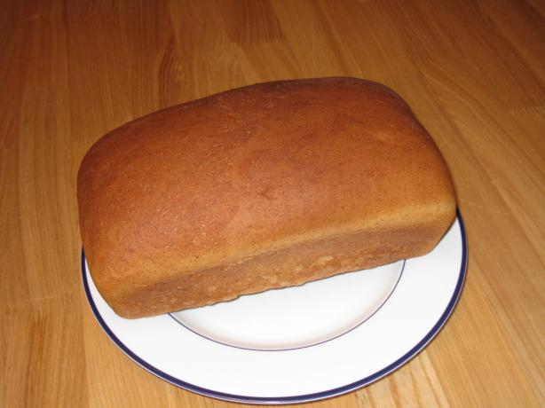 One-Rise Honey Wheat Bread. Photo by Laundrycrisis