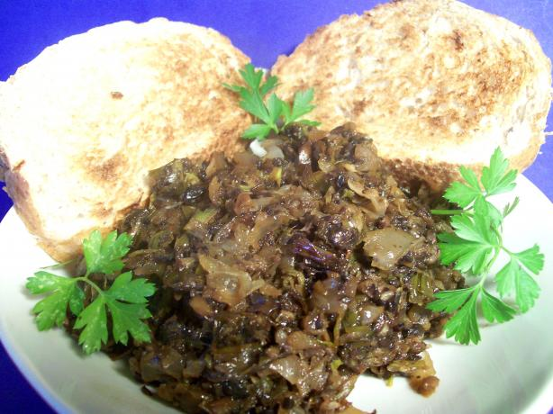 Caramelised Onion and Mushroom Spread. Photo by Sharon123