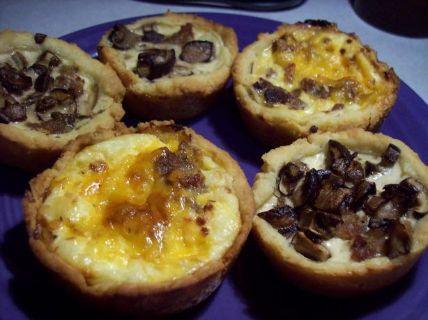 Mini Sausage Quiche Appetizers. Photo by little_wing