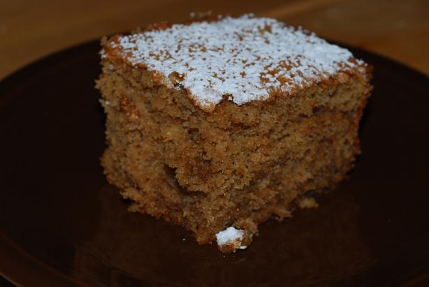 Coffee & Spices Sponge Cake. Photo by Katzen
