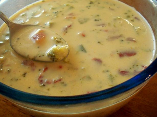 Weight Watchers Yummy Cheese Soup (Easy Too). Photo by *Parsley*