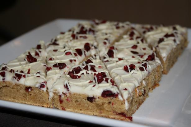 Cranberry Bliss Bars. Photo by lilsweetie