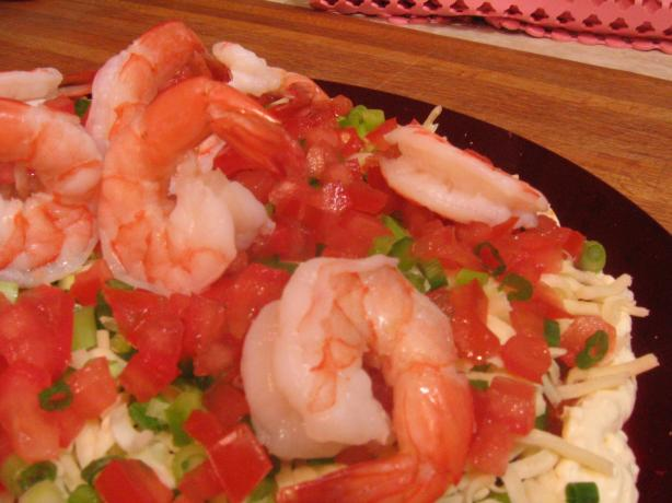 Succulent Shrimp/Prawn Spread (No Bake). Photo by CHILI SPICE