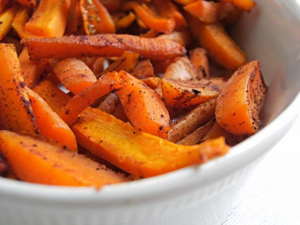 Honey Roasted Carrots - Variations. Photo by Lalaloula