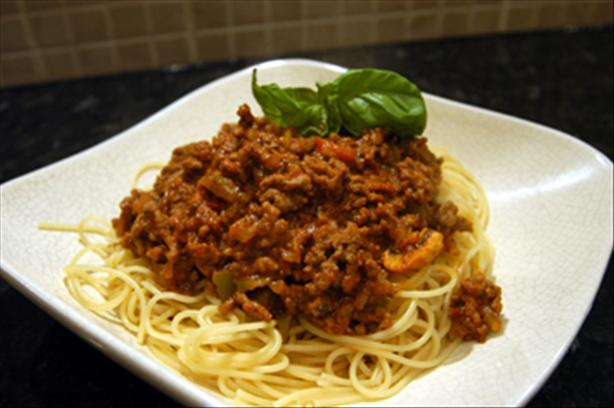 Bolognese Sauce. Photo by -Sylvie-