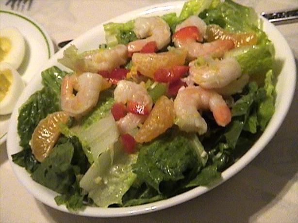 Special Shrimp Salad. Photo by Lori Mama