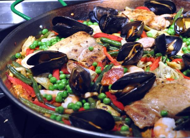 Al Andalus Paella. Photo by KateL