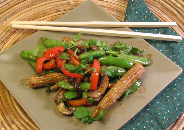 Thai Stir-Fried Vegetables. Photo by dianegrapegrower