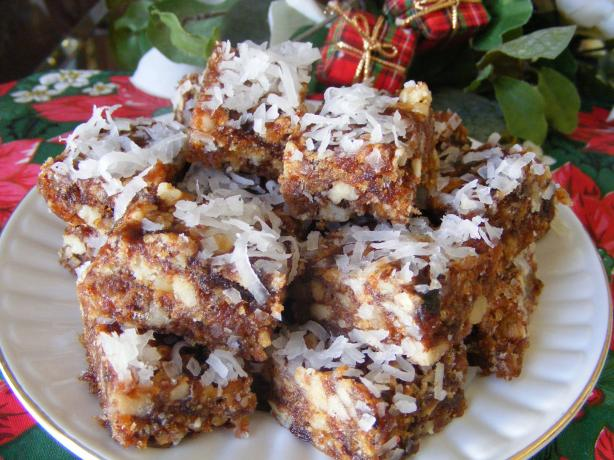 Date Rice Krispies Bars. Photo by Seasoned Cook