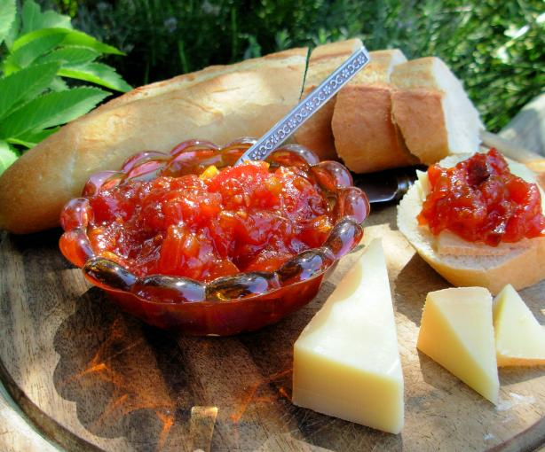 Saffron Tomato Relish. Photo by French Tart