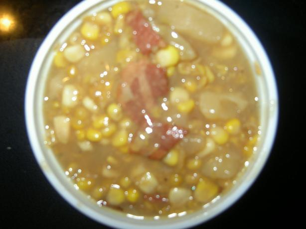Corn Chowder (Crock Pot). Photo by Chef #1077845