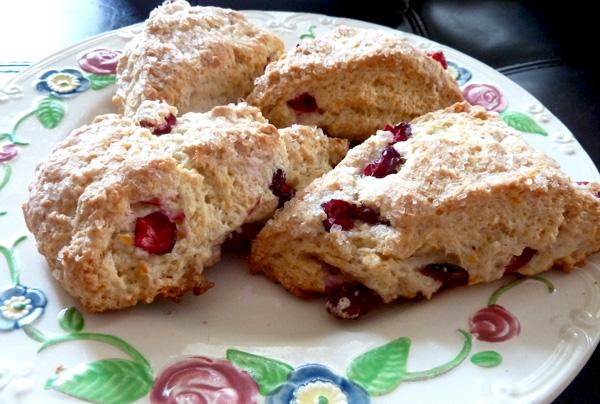 Bed and Breakfast Cranberry Biscuits. Photo by momaphet