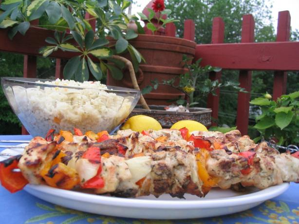 Easy Lemon Garlic Chicken Kabobs. Photo by Lorrie in Montreal