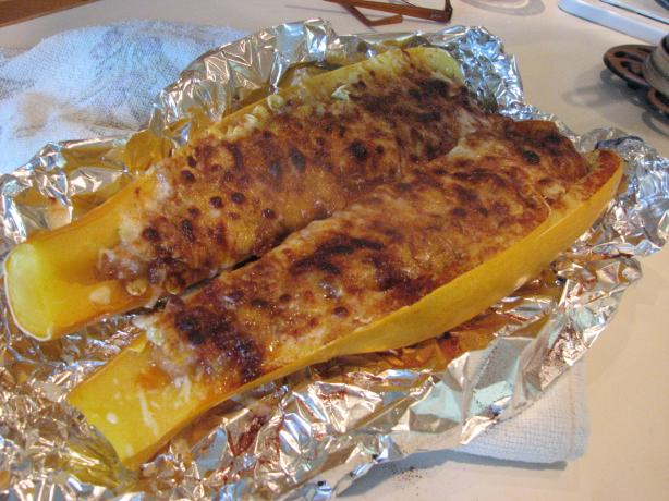 Cheesy Stuffed Summer Squash. Photo by Bonnie G #2