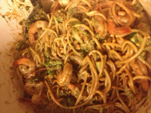 Thai Shrimp and Noodles. Photo by Mommy2Summer&Gibson