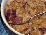 Cherry Crisp - from Scratch!