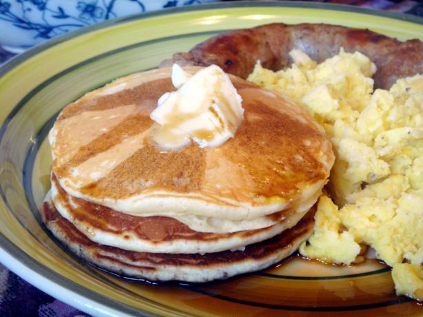 Cook's Illustrated Light & Fluffy Pancakes. Photo by Lori Mama