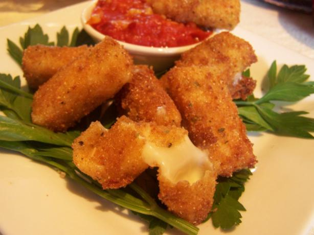 Fried Mozzarella Sticks. Photo by wicked cook 46
