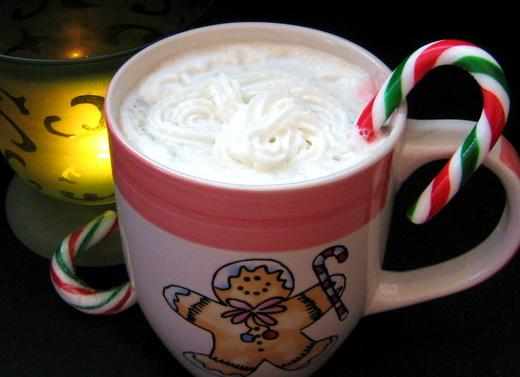 Peppermint Latte from B H and G Heart Healthy Living. Photo by Annacia