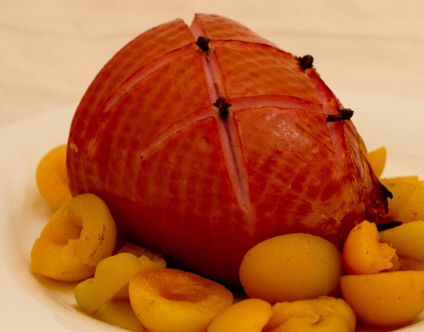 Ginger Glazed Ham. Photo by Peter J