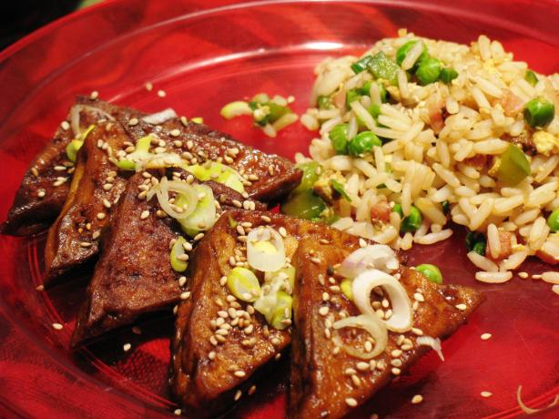 Tofu Simmered in Hoisin Sauce by Deborah Madison. Photo by MsPia