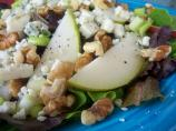 Pear-Walnut Salad With Artisan Bleu Cheese