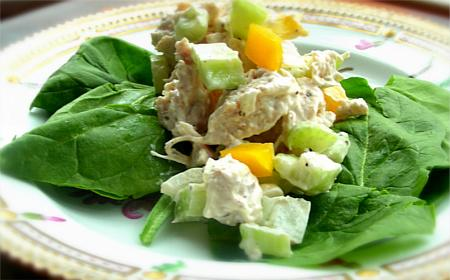 Atlanta Bread Chicken Salad. Photo by Andi of Longmeadow Farm
